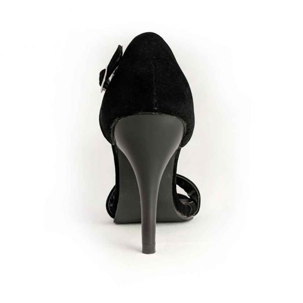 Small size petite feet classic one ankle strap black shoes heels pumps for women in Australia Trudymaree