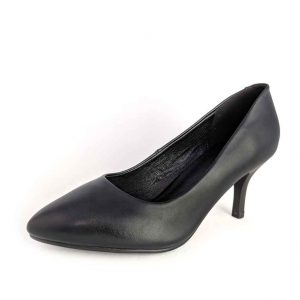 Small size petite feet classic black corporate work shoes heels for women in Australia Trudymaree