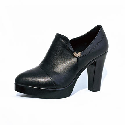 Small size petite ankle bootie black pump shoes heels for women in Australia