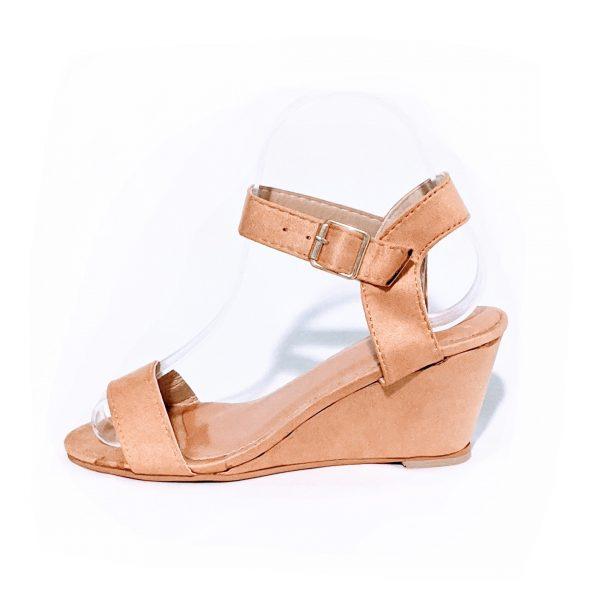 Small size petite feet wedge beige casual wear shoes heels for women in Australia Trudymaree